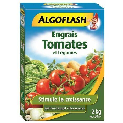 ALGOFLASH Engrais Tomates et Légumes 2 Kg Multicolore 18.6 x 6.4 x 26 cm
