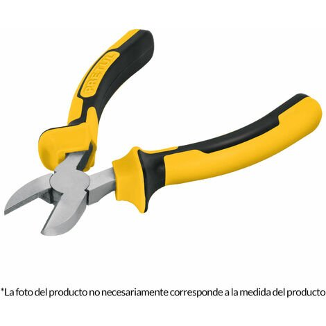 Alicate corte diagonal 150mm, comfort grip, Pretul