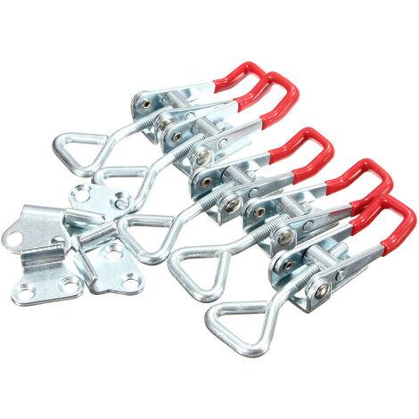 Alicates de palanca ajustables de 5 piezas, 100 kg / 220 libras, herramienta de mano con cierre de capacidad de sujeción rápida