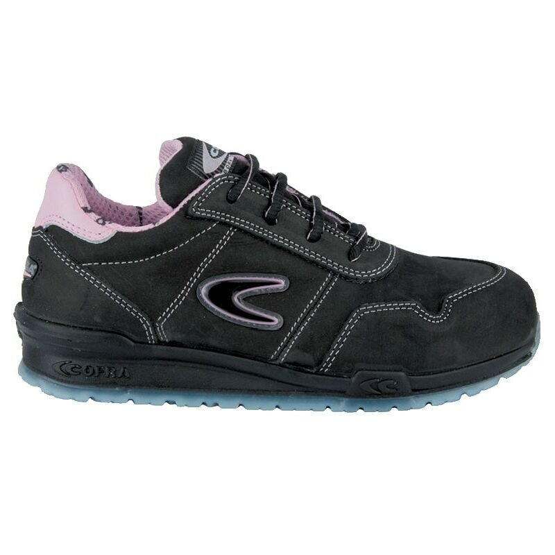 Image of Cofra Alice S3 SRC Women's Black Safety Trainers - Size 4