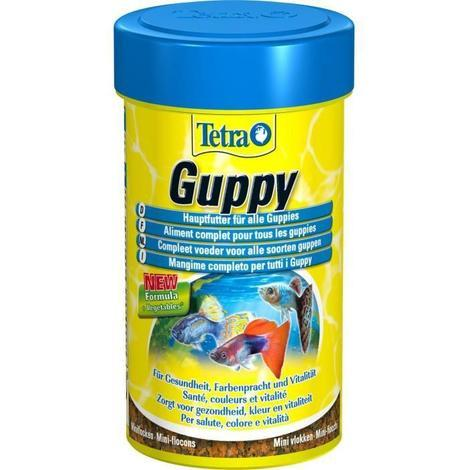 Aliment Complet Guppy pour Guppies - Tetra - 250ml