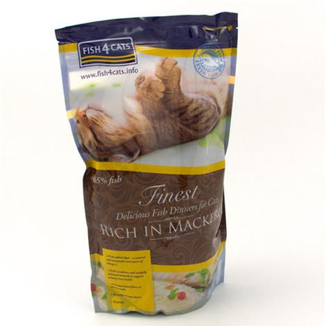 Alimentación a base de caballa para gatos de Fish4Cat