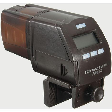 Alimentador automático de alimentación del temporizador LCD para peces de acuario Hasaki