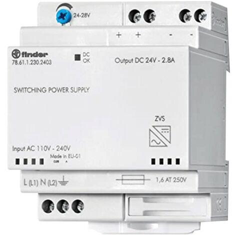 Alimentador Buscador de conmutación de 24VDC 60W 2.5 modular 786112302403