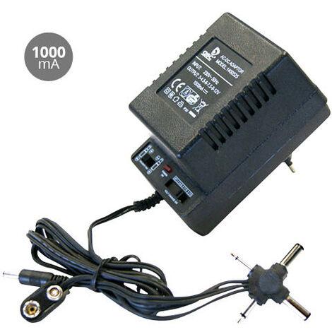 Alimentador de corriente AC/DC Universal 1000mAh