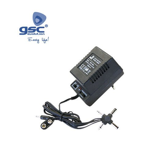Alimentador de corriente AC/DC Universal 500mAh