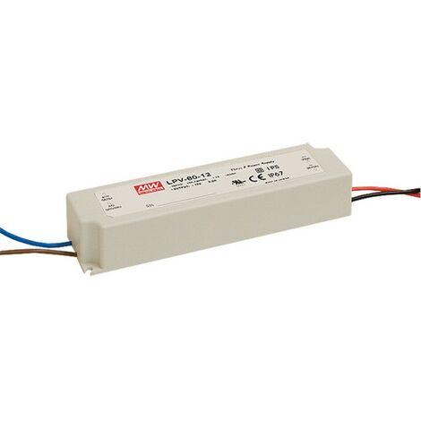 Alimentador Para LEDs 12V 60W IP67