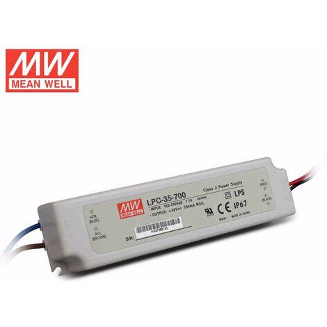 Alimentador Para LEDs 9-48V 33,6W 700mA