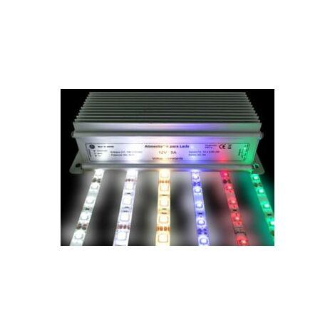 ALIMENTADOR TIRAS LED 230 V A 12 V 20 W