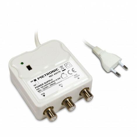 brancher l'amplificateur d'antenne
