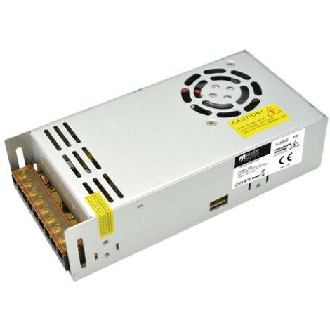 Alimentation 24 volts et 350w 14,5 Ampères Protection Ip20 Mesures 200x99x50mm 133502