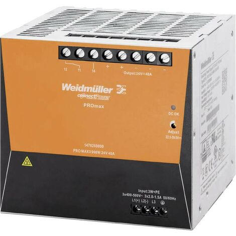 Alimentation à découpage PROmax triphasé W235451