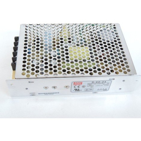 Alimentation driver LED 24V pour bandeau ou luminaire puissance 60VA max EBENOID 080009