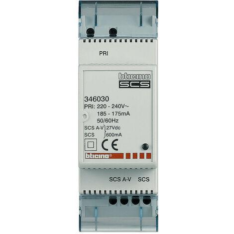 Alimentation électrique Bticino Compact à 2 fils 346030