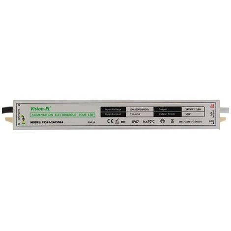 Alimentation électronique pour LED 24V DC 30W