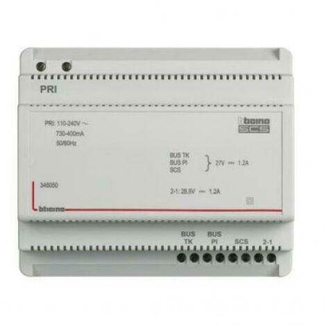 Alimentation en alimentation pour systèmes audio et vidéo 2 fils 6din 346050