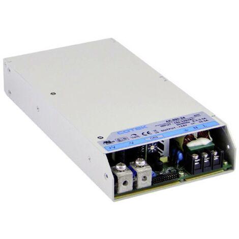 Alimentation encastrable CA/CC Cotek AE 800-12 AE 800-12 66.7 A 800 W 12 V/DC stabilisé, tension de sortie réglable 1 pc(s)
