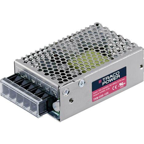 Alimentation encastrable CA/CC TracoPower TXM 025-115 TXM 025-115 1700 mA 25 W +15.0 V/DC 1 pc(s)