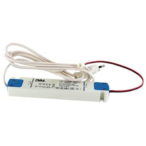 Alimentation led 12v genius - Puissance : 20 W - Longueur : 162 mm - Classe : II - Largeur : 40 mm - Alimentation : 12 V - Epaisseur : 15 mm - Longueur câble secteur : 1500 mm - Pour : Eclairage LED