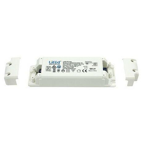 Alimentation LED non dimmable - CC 20W - 450mA - Voltage en sortie 2742V - LIFUD