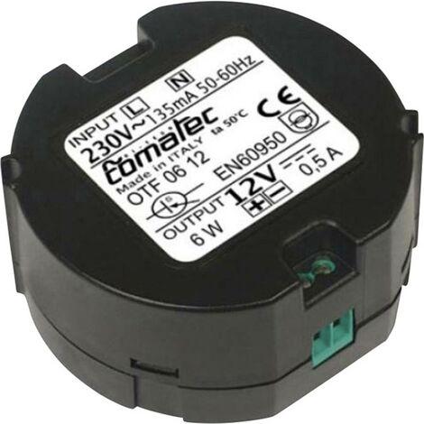 Alimentation miniature pour boîtes de dérivation Comatec OTF/06.12RA 6 W 1 pc(s)