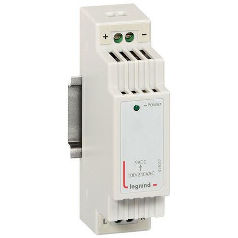 Alimentation modulaire 9V 1,6A pour coffrets multimédia 1,5 modules (413017)