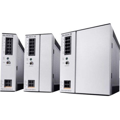 Alimentation rail DIN Block PM-0148-020-0 PM-0148-020-0 48 V/DC 2 A 96 W 1 x 1 pc(s)