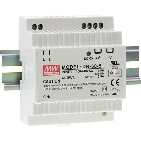 Alimentation rail DIN Mean Well MDR-60-24 2.5 A 60 W 1 x