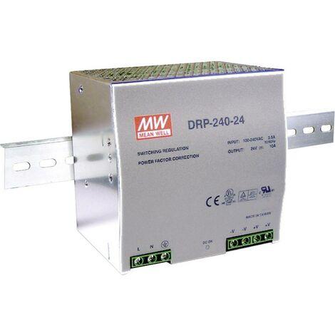 Alimentation rail DIN Mean Well DRP-240-24 10 A 240 W 1 x