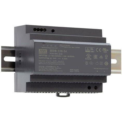 Alimentation rail DIN Mean Well HDR-150-15 15 V/DC 142.5 W 1 x 1 pc(s)