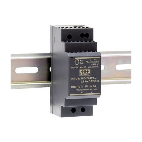 Alimentation rail DIN Mean Well HDR-30-12 HDR-30-12 12 V/DC 2 A 24 W 1 x 1 pc(s)