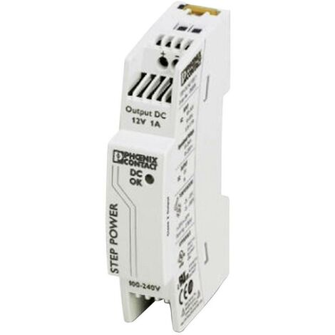 Alimentation rail DIN Phoenix Contact STEP-PS/48AC/24DC/0.5 2868716 24 V/DC 0.55 A 24 W 1 x 1 pc(s)