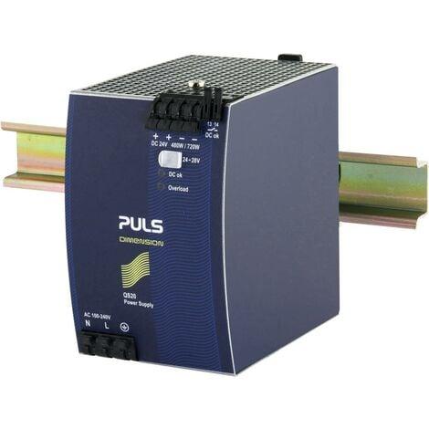 Alimentation rail DIN PULS QS20.241-C1 24 V/DC 20 A 480 W 1 x Q807371
