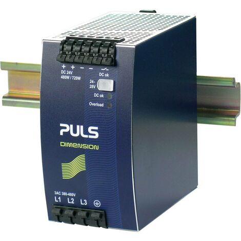 Alimentation rail DIN PULS QT20.241-C1 24 V/DC 20 A 480 W 1 x
