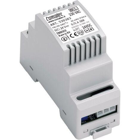 Alimentation rail DIN - Série TBD2 - AC/AC primaire 230 V/AC secondaire 24 W Comatec TBD2/AR.0100.24/E8