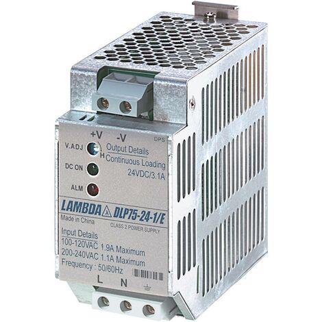 Alimentation rail DIN TDK-Lambda DLP-75-24-1/E 28 V/DC 3.1 A 75 W 1 x