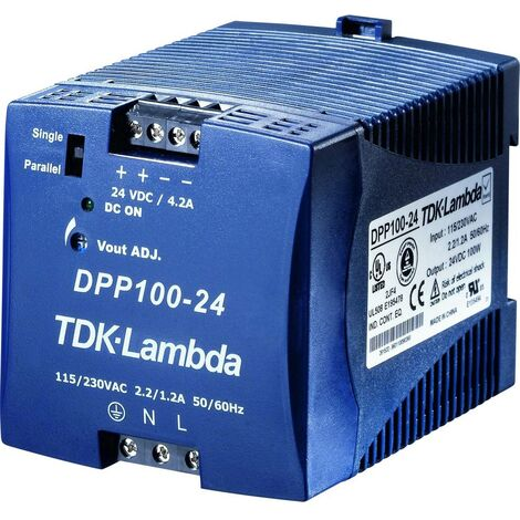 Alimentation rail DIN TDK-Lambda DPP-100-24 28.5 V/DC 4.2 A 100 W 1 x
