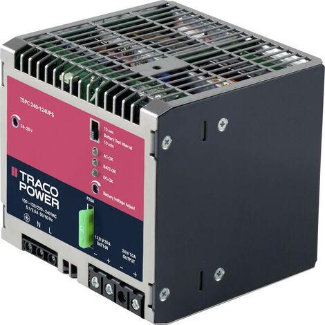 Alimentation rail DIN TracoPower TSPC 240-124 UPS TSPC 240-124 UPS 12 A 240 W 1 x 1 pc(s)