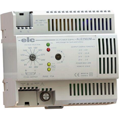 Alimentation RAIL DIN universelle télérégulée V07190