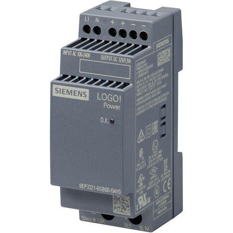 Alimentation stabilisée LOGO!Power 12V / 1,9A X568491