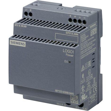 Alimentation stabilisée LOGO!Power 24V / 4A X568841