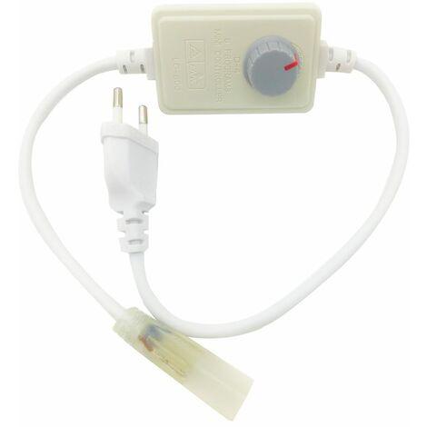 LE Connettore per Striscia LED Monocolore Alimentatore Confezione da 2 Unit/à