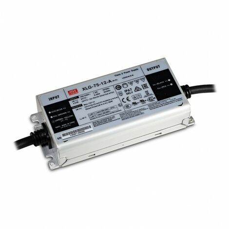 DC Impermeabile IP67 12V 100W 8,5A  Mean Well LPV-100-12 Kingled Alimentatore AC