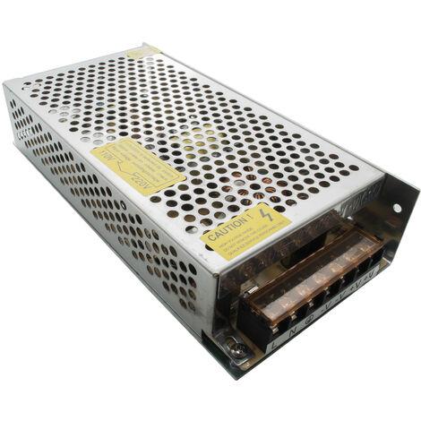 """main image of """"Alimentatore stabilizzato 24V 120W 5A 2 uscite trasformatore strisce lampade LED"""""""