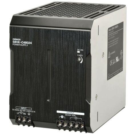 Alimentatore Switching Omron 24DC 20A 480W LITE S8VKC48024