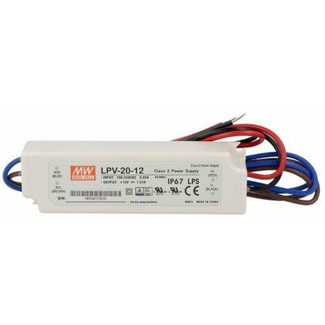 Alimentatore LED 60w 36v 1,67a; MeanWell lpv-60-36; quadri Alimentatore