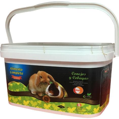 Alimento completo para Conejos y Cobayas 5,5 L (3 kg)