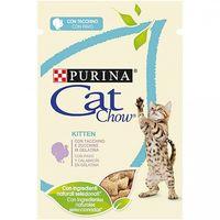 Alimento Húmedo Completo PURINA CAT CHOW PAVO para Gatos Junior 10 x 85 gr