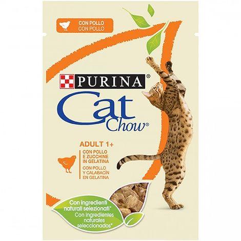 Alimento Húmedo Completo PURINA CAT CHOW POLLO para Gatos 24 x 85 gr