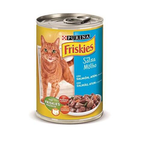 Alimento húmedo PATÉ PURINA FRISKIES BUEY&HÍGADO para gatos